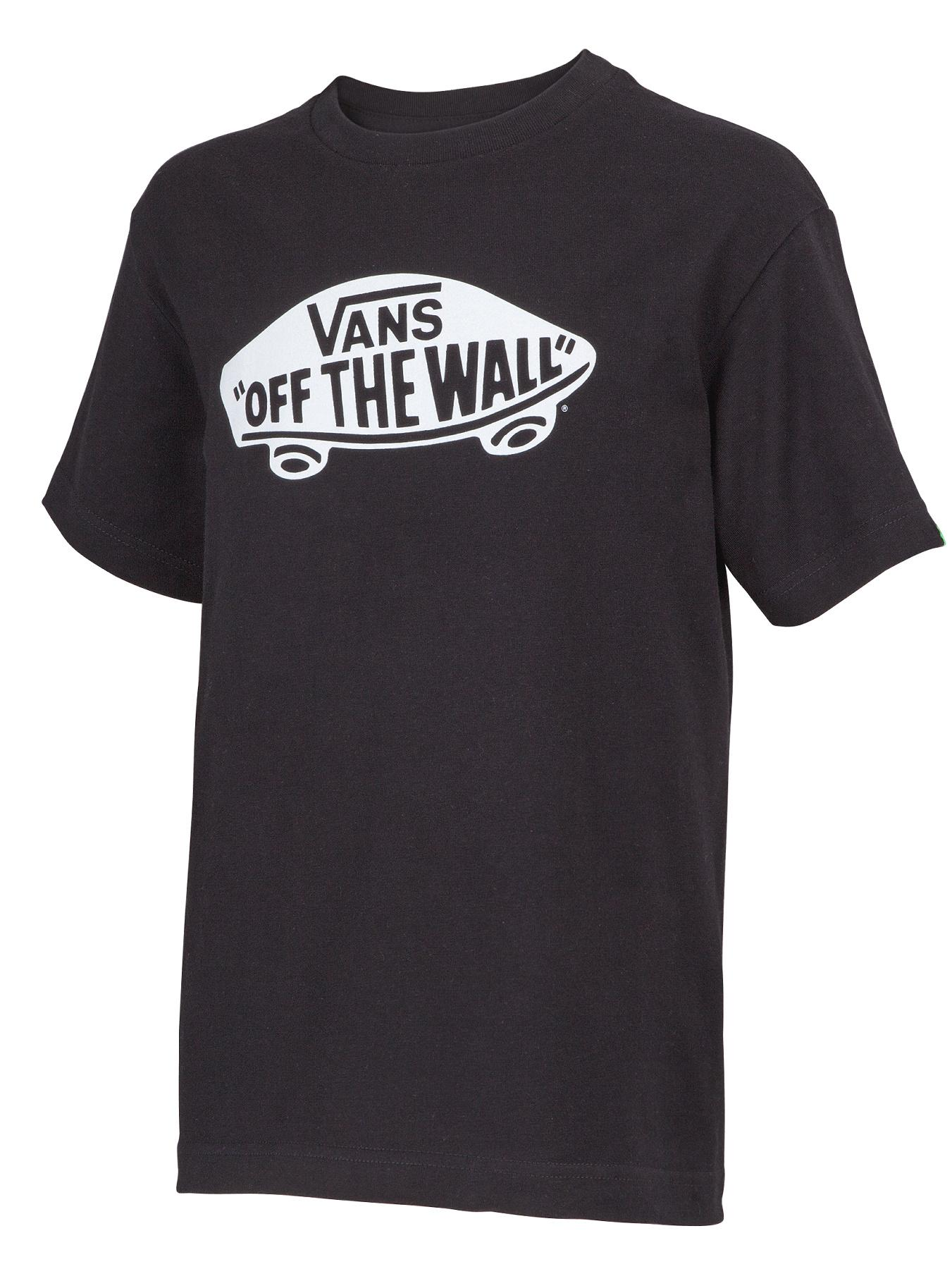 Vans Youth Boys Off The Wall T-shirt - Black, Black