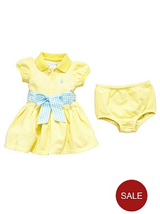 ralph-lauren-baby-girls-polo-dress-with-bow-and-knickers-set