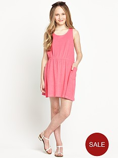 freespirit-girls-towelling-dress