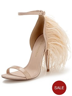 little-mistress-two-part-feather-sandals