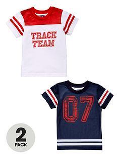 ladybird-boys-baseball-t-shrts-2-pack