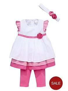 ladybird-baby-girls-frill-dress-leggings-and-headband-set-3-piece