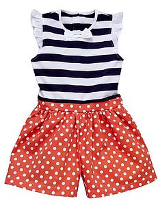 ladybird-girls-stripe-spot-jersey-and-woven-playsuit