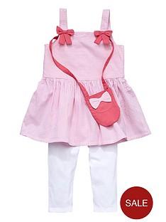 ladybird-girls-stripe-sundress-cropped-leggings-and-bag-set-3-piece