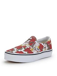 vans-classic-slip-on-disney-belle-junior-plimsolls