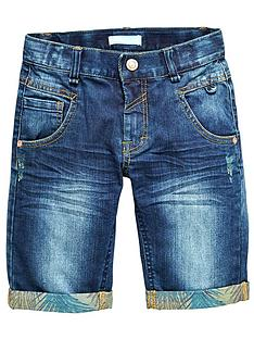 name-it-lmtd-boys-denim-shorts-with-palm-turn-ups