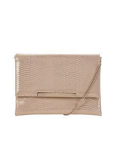 dune-metallic-clutch-bag