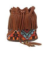 Fringe Duffle Bag