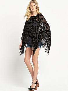jayley-devore-black-silk-poncho