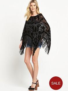 jayley-devore-black-silk-poncho