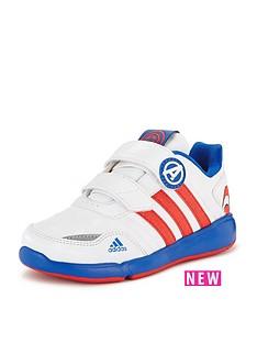 adidas-disney-avengers-lo-cf-junior-captain-america-trainers