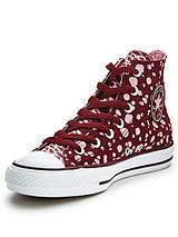 Chuck Taylor All Star Animal Print Hi Trainers