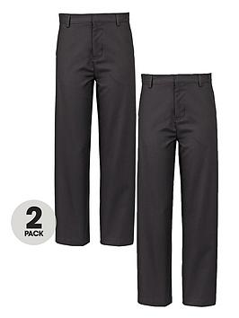 top-class-boys-teflon-coated-coin-pocket-school-trousers-2-pack