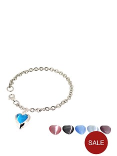 love-silver-sterling-silver-set-or-6-interchangeable-heart-bracelet