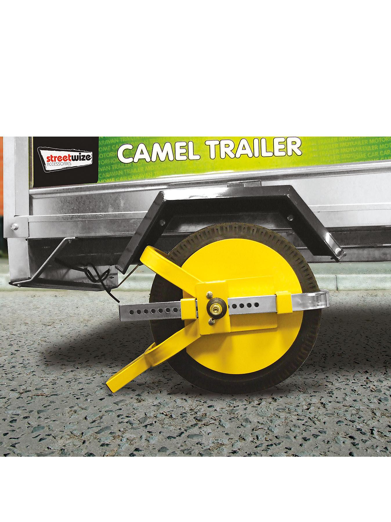 Streetwize Accessories Trailer Wheel Clamp
