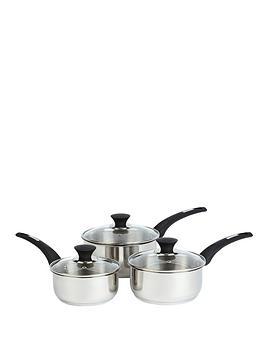 salter-elegance-3-piece-stainless-steel-pan-set