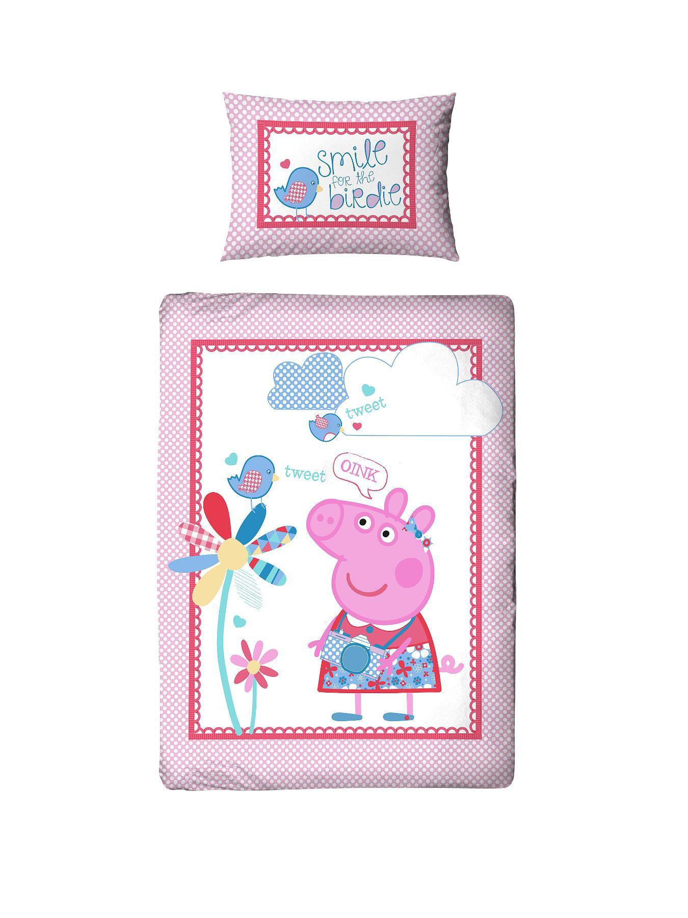 Peppa Pig Tweet Toddler Duvet Cover Set