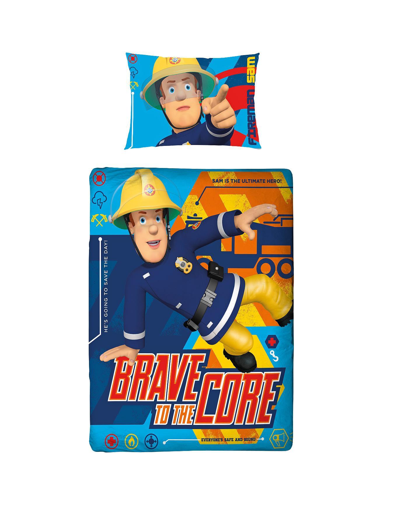 Fireman Sam Brave Toddler Duvet Cover Set