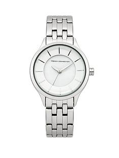 french-connection-stainless-steel-ladies-watch