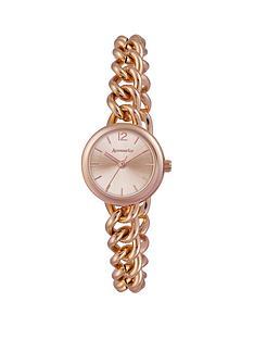 accessorize-rose-gold-tone-linked-ladies-bracelet-watch