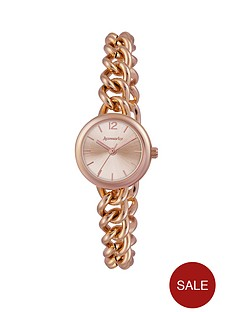 accessorize-rose-gold-tone-linked-ladies-bracelet-watch