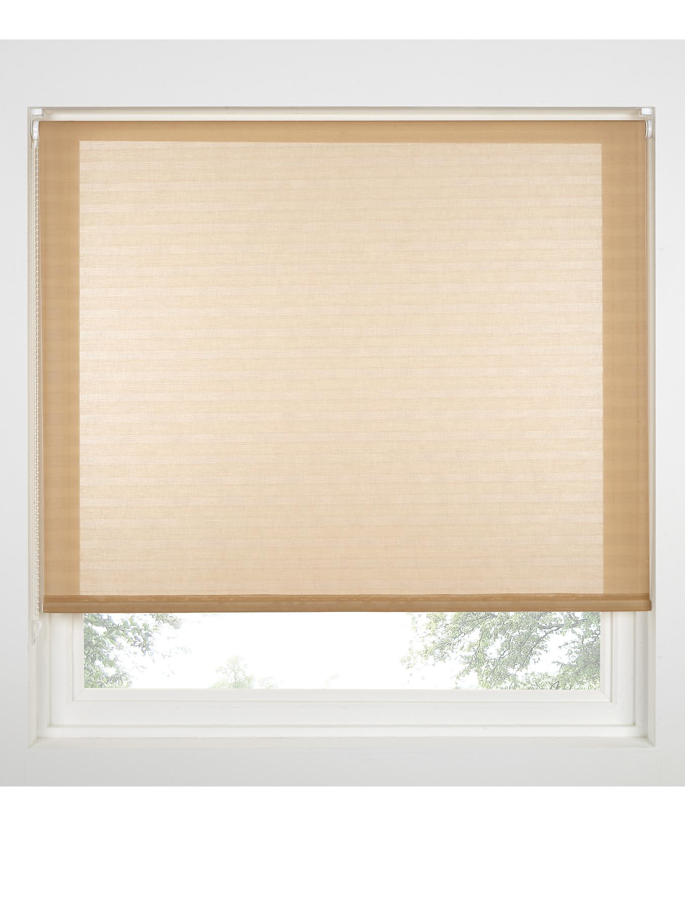 Sheer Self Stripe Roller Blind