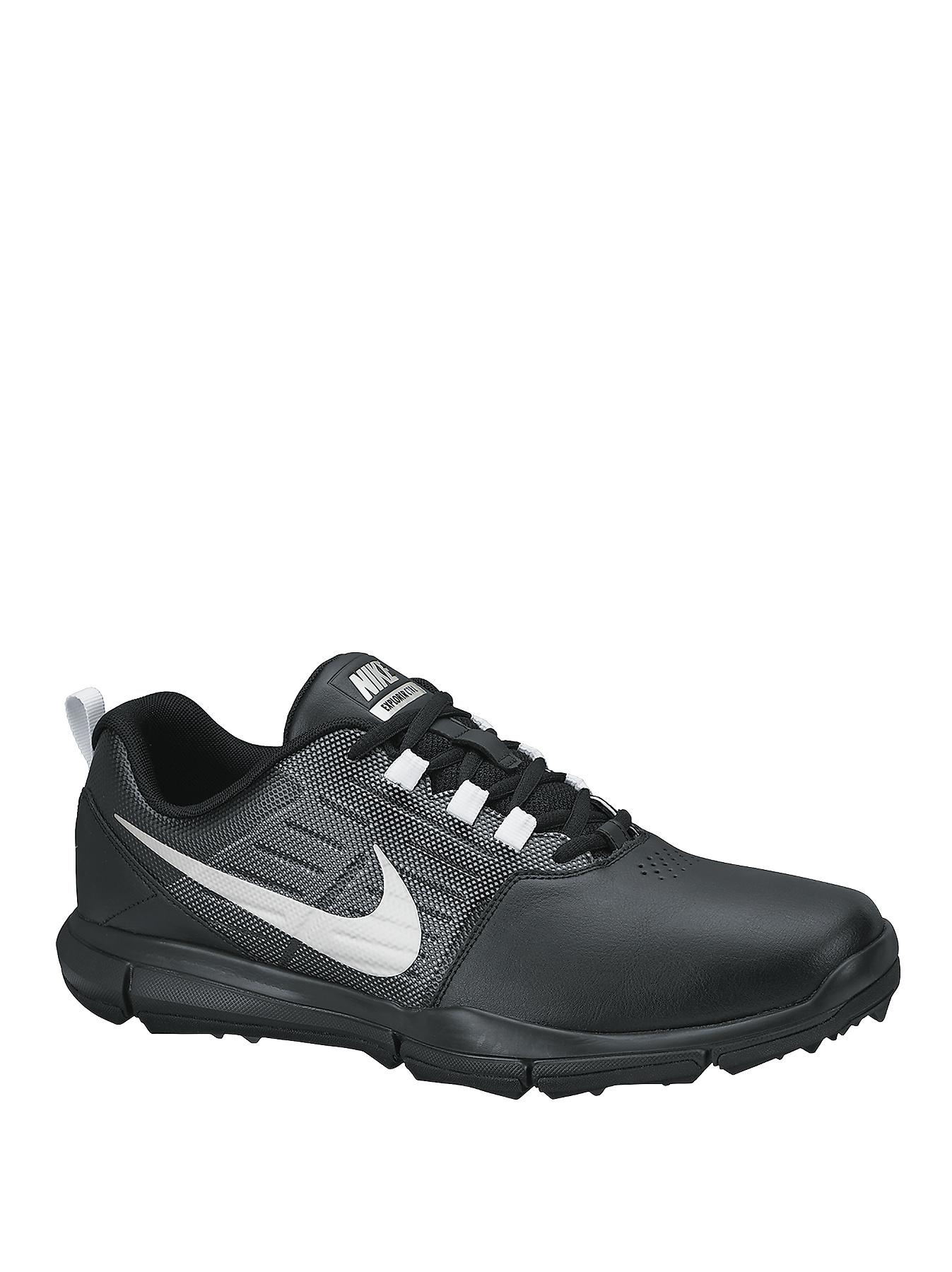 Nike Explorer Golf Shoes - Black/Silver/Cool Grey - Black, Black