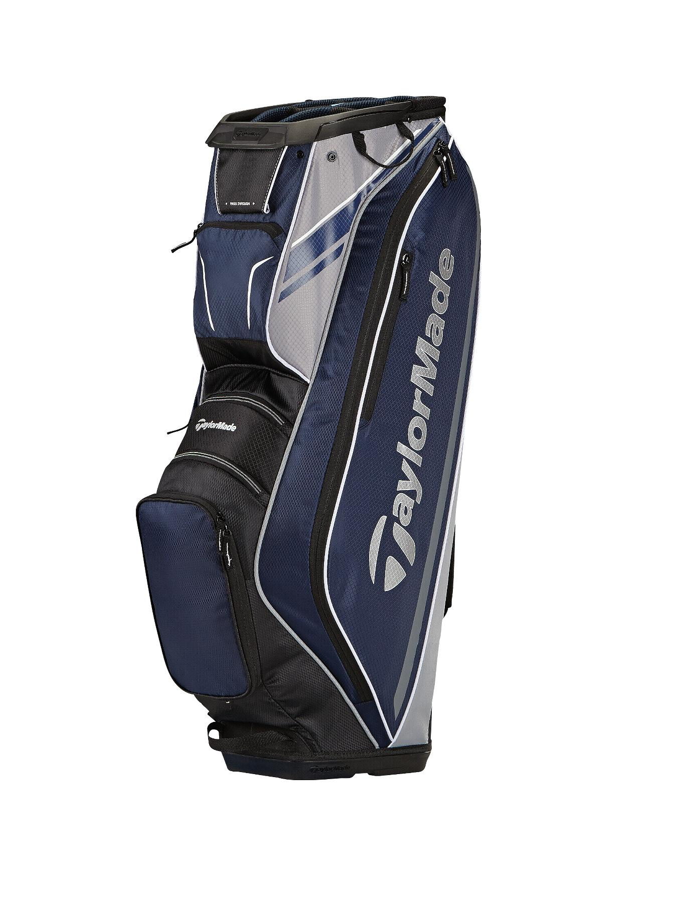 TAYLORMADE 2015 San Clemente Cart Bag - Navy/Black/Silver