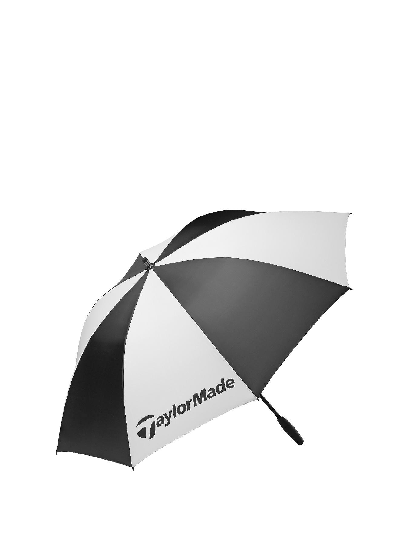 TAYLORMADE Single Canopy 62 Umbrella - Black/White