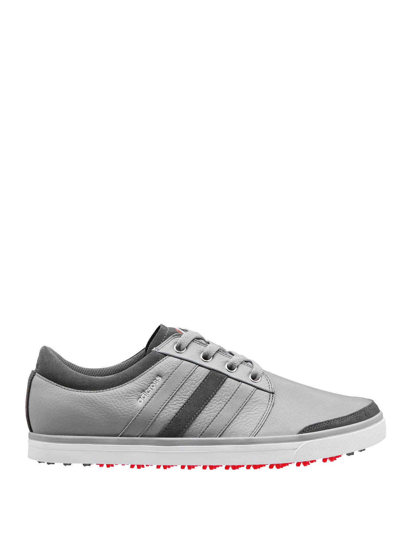 adidas Adicross Gripmore Trainers - Aluminium/White/Light Scarlet