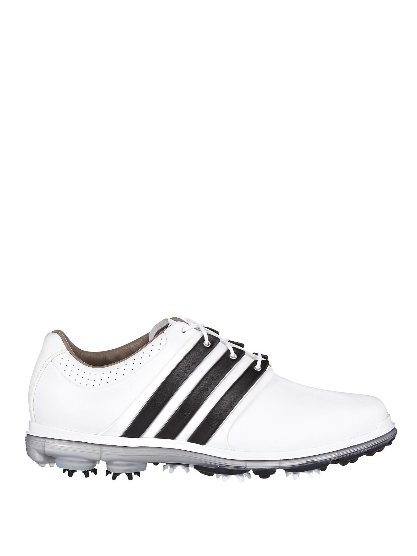 adidas Pure 360 LTD Golf Shoe - White/Black/Silver Metallic