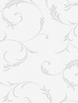Superfresco Athena Wallpaper - Grey