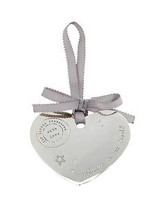 mamas-papas-silver-plated-heart