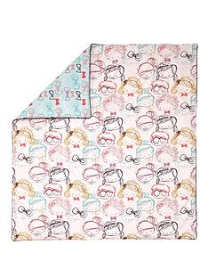 mamas-papas-quilt-cotbedcot-faces