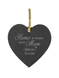 personalised-home-is-where-your-mum-is-slate-heart