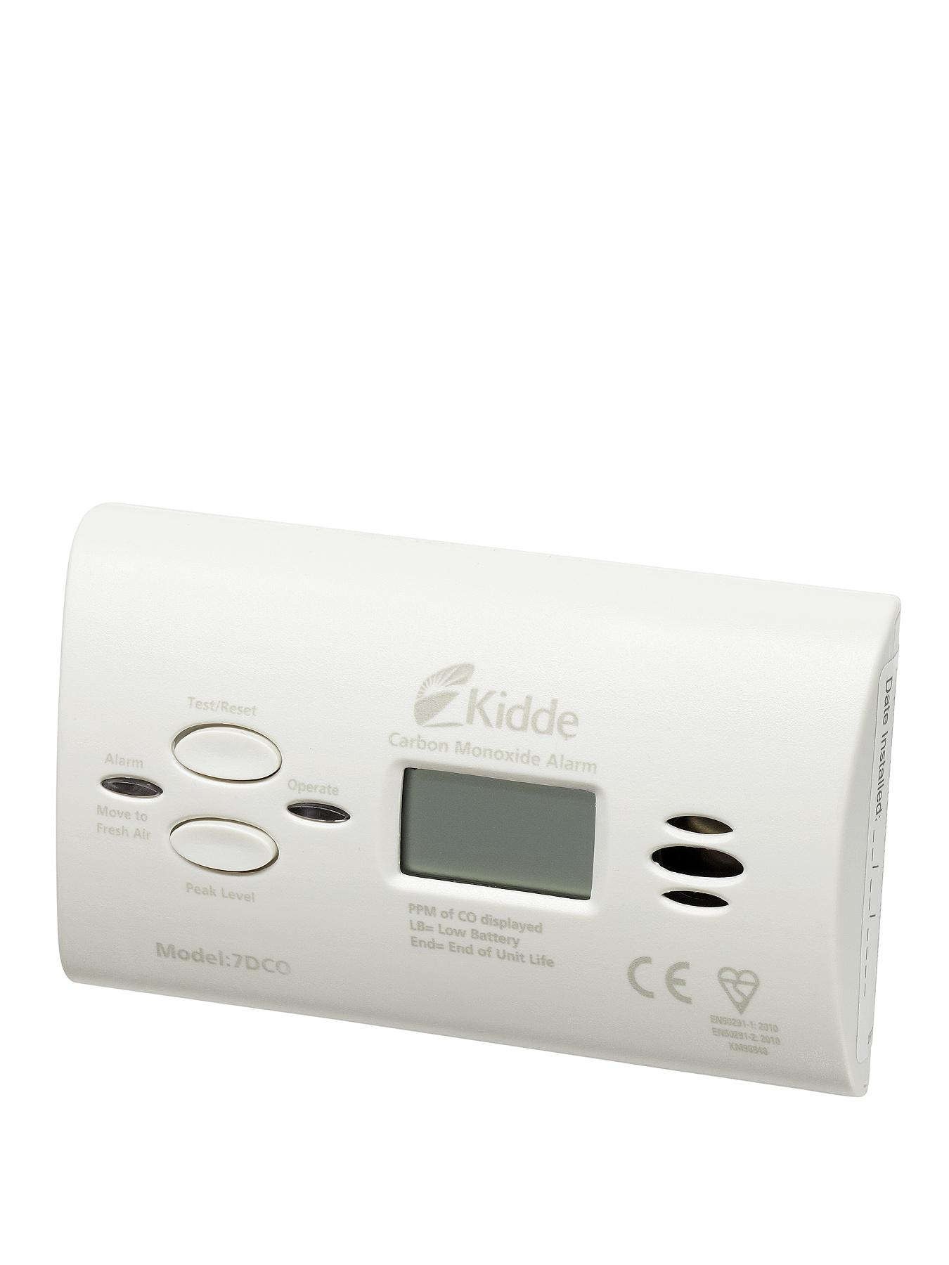 Kidde 7DCO 10 Year Carbon Monoxide Alarm with Digital Display
