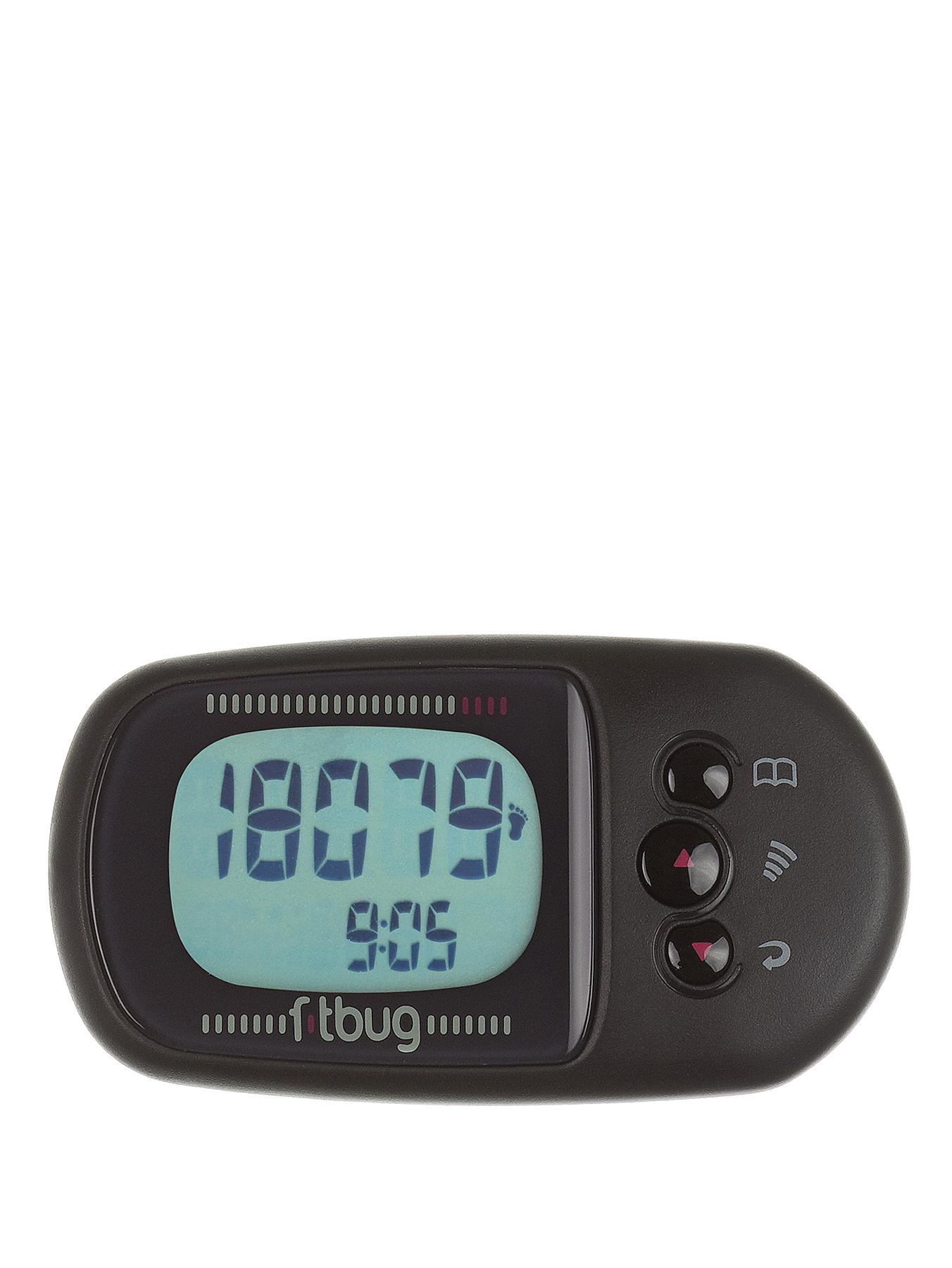 Fitbug Air Bluetooth Activity Tracker - Black - Black, Black
