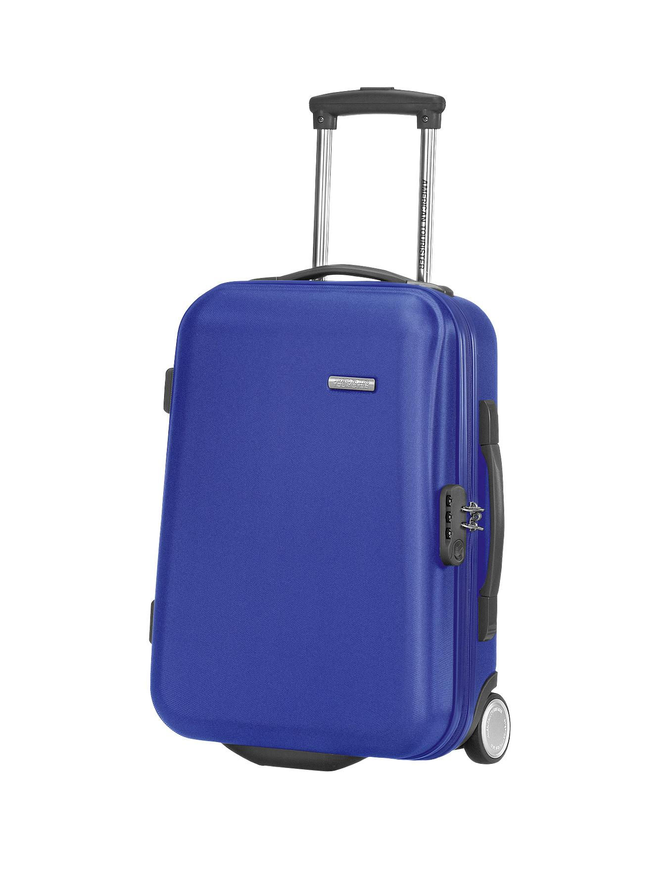AMERICAN TOURISTER Jazz Diamond Upright 55cm Cabin Case - Blue, Blue