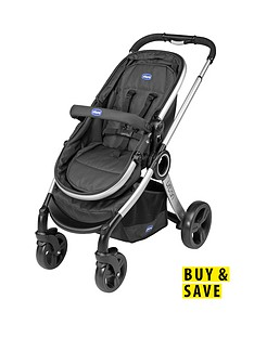chicco-urban-stroller-with-adaptors