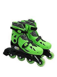 ozbozz-electra-in-line-skates-green