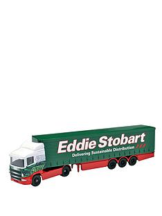 corgi-eddie-stobbart-curtainside-truck-and-trailer