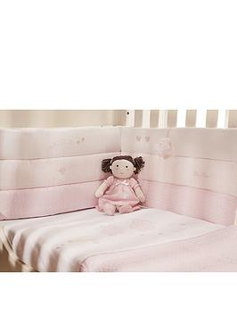 silver-cross-luxury-cot-bumper-vintage-pink