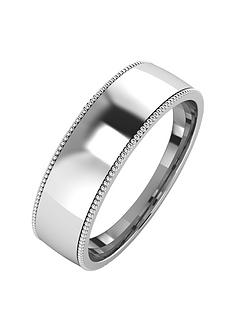 love-silver-silver-mill-grain-edge-6-mm-court-wedding-band