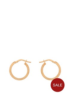 love-gold-9-carat-rose-gold-patterned-creole-earrings-20-mm