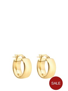 love-gold-9-carat-yellow-gold-huggy-earrings