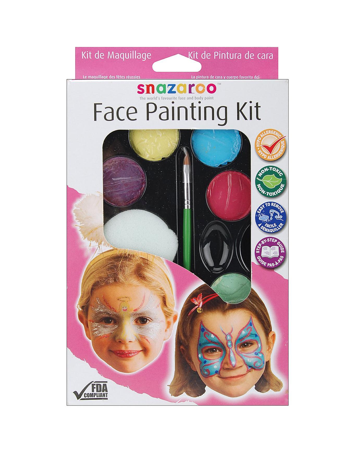 Snazaroo Girl Face Painting Kit