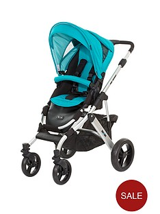 abc-design-design-mamba-pushchair-silver-chassis