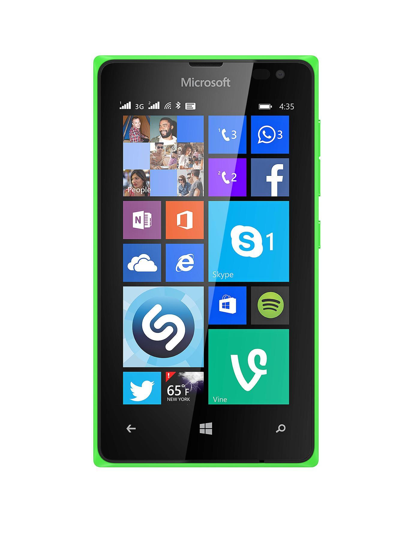 Nokia Lumia 435 Smartphone - Sim FREE Handset - Green