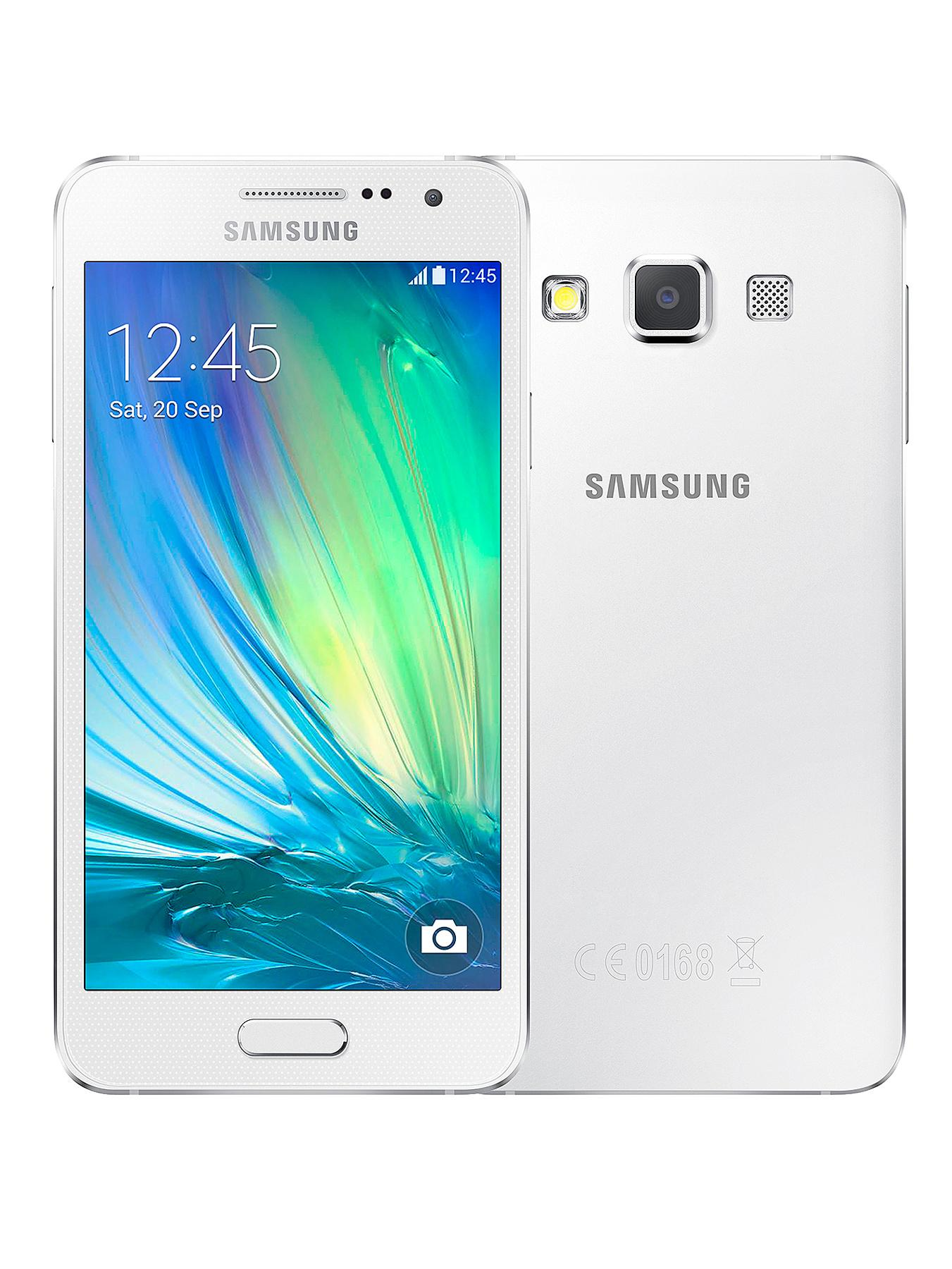 Samsung A3 Smartphone - Sim FREE Handset - White