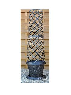 thompson-morgan-39-cm-tower-pot-saucer-and-frame-x-1